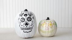 Dia de los Muertos, or Day of the Dead, is a Mexican holiday that occurs the day after Halloween -- and these sugar-skull-themed designs were created in honor of it.