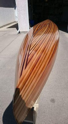 Wooden Boat Building, Wooden Boat Plans, Boat Building Plans, Wood Canoe, Wooden Kayak, Portable Fishing Rod, Fishing Boats, Canoe Plans, Longboard Design