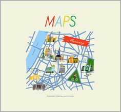 MAPS Illustrated Cities by Lena Corwin $35