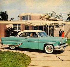 A 1955 Lincoln advertisement.