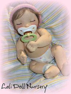 eye lashes for sleepy dolls - Lali Doll Nursery