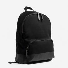 867d3c18b6d0f The Dipped Mini Zip Backpack - Black   Black