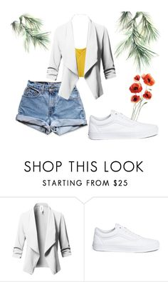 """Untitled #53"" by oalma952 on Polyvore featuring Levi's, Vans and Eco Style"