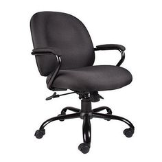 Boss Office Products B670 Bk Heavy Duty Task Chair In Black Kitchen Dining