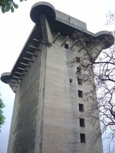 The 'L-Tower' at Augarten, Vienna. Photo Credit.