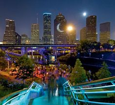 Sabine-to-Bagby Promenade, Houston Buffalo Bayou