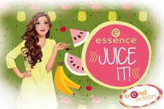 The Beauty News: Essence Juice It! Summer 2016 Collection