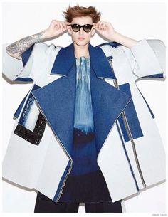 Jeremy Matos Rocks Oversize Avant Garde Fashions for Visual Tales Cover Photo Shoot image Jeremy Matos Visual Tales 2014 Photo Shoot 018