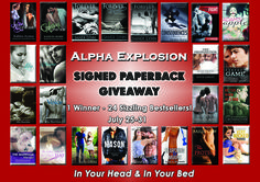HUGE SIGNED PAPERBACK GIVEAWAY from 18 Amazing Authors!