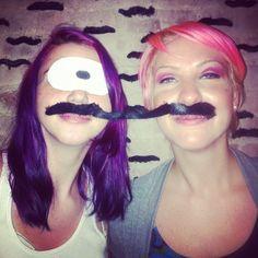 "@thequeenskickshaw's photo: ""Aka Friendship Moustache"""