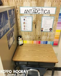 Sometimes when students have an inappropriate response to events that are out of their control they need time and a safe space to process what happened Enter Antarctica A. 3rd Grade Classroom, Classroom Setting, Classroom Setup, Classroom Design, Future Classroom, School Classroom, Classroom Organization, Classroom Environment, Autism Classroom