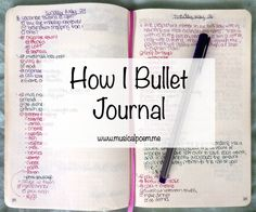 Nice and clear explanation of what this whole Bullet journaling is about. How I Bullet Journal Bullet Journal Banners, Bullet Journal Agenda, How To Bullet Journal, Bullet Journals, Journal Template, Bujo, To Do Planner, Planner Organization, Organizing Life