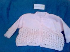 Beautiful Irish Hand Knitted Coral, Soft Acrylic Cardigan, 4 button top, size 3-9months. Be First with this season's colour, email thecraftyshamrock@gmail.com Season Colors, Hand Knitting, Irish, Unique Gifts, Coral, Colour, Button, Sewing, Crochet