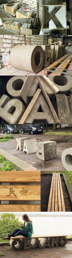 Облако #Concrete #typo