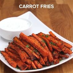 Healthy Carrot Fries : Isn't this just lovely. Imagine another dimension of fries made with a natural herb like Carrot. You got nothing to worry about. Let me know what you feel about this Delicious and healthy recipe in the comment section. Good Healthy Recipes, Healthy Meal Prep, Vegetarian Recipes, Healthy Eating, Clean Eating, Dinner Healthy, Healthy Fries, Healthy Recipe Videos, Health Recipes