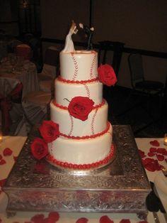 baseball Wedding Cakes | Baseball Wedding Ideas