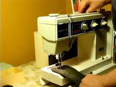 ELNA SU AIR ELECTRONIC SEWING MACHINE, similar to the machine I used from 1984-2012.