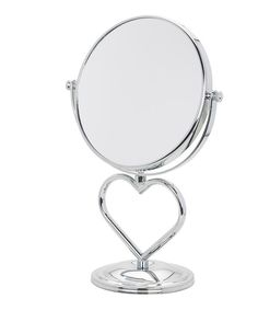 Look at this Heart Vanity Chrome Mirror on #zulily today!
