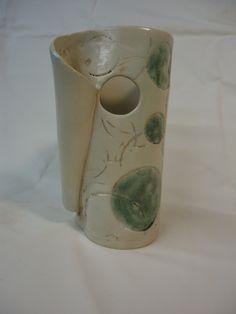 handmade Circles vase - Michael MacDonald 2013