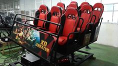 Hydraulic 9 seats XD simulator for cinema! Cinema, Movies, Cinematography, Cinema Movie Theater, Movie Theater