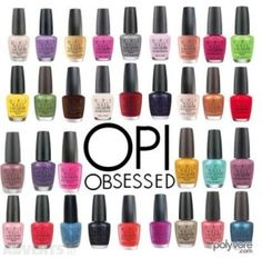 OPI Nail Lacquer. OPI is my favorite nail polish