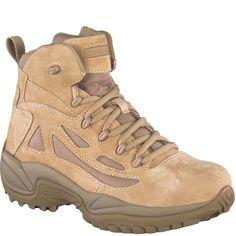 RB8695 Reebok Men's Stealth Uniform Boots - Desert Tan