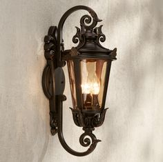 Casa Marseille 21 1/2  High Outdoor Wall Light - #62374 | L&s Plus & I have this tuscan style . . .lantern on my garage u0026 front porch ...