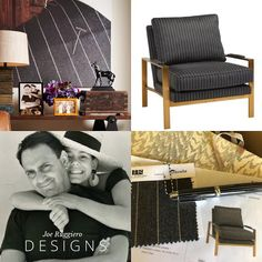 Sunbrella looks just like a fine worstered wool. Black White Fashion, Black And White, Fabric Board, Bold Stripes, Made In America, White Style, Home Collections, Furniture Plans, Room Interior