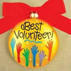 volunteer application gift for Christmas