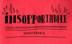 804: Insopportabile