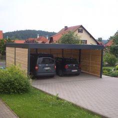Design Garage, Carport Designs, House Design, Carport Patio, Carport Garage, Carport Modern, Car Shed, Building A Fence, Pole Barn Homes
