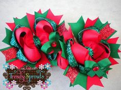My little girl would be rockin' these all December long! :)