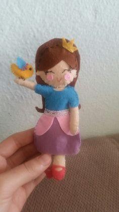 Felt barbie  #keçeden #oyuncak #toy