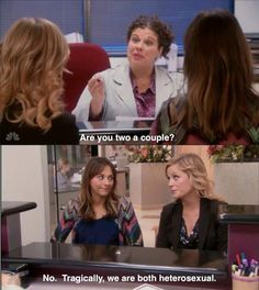 Parks & Rec perfectly sums up how I feel about my BFF Parks And Rec Memes, Parks And Recreation, Parcs And Rec, Best Friend Relationship, Baby Face, Best Shows Ever, Best Tv, Just In Case, I Laughed