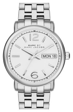 MARC BY MARC JACOBS 'Fergus' Round Bracelet Watch, 38mm available at #Nordstrom