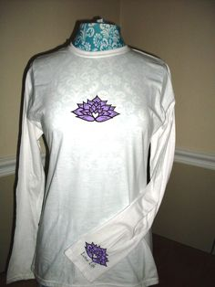 All Lotus Life Long Sleeve - Front/Sleeve View $34.00    www.LotuslifeDesigns.com
