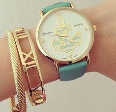I actually have this adorable watch thx to my awesome friend KK!!