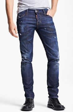 slim-fit jeans - Blue Dsquared2 Cheap Sale Recommend Cost Buy Cheap Best Place Fast Shipping Buy Cheap Popular nBZqDQFy