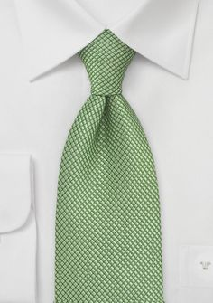 Textured Green Tie $25. I like how there are lots of greens embedded into the design so it would match well