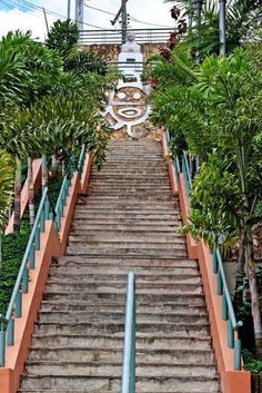 ☀Puerto Rico☀Jayuya walked these stairs plenty of times! Next to my old school!