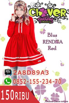 Blus Rendita Red https://www.facebook.com/divistore