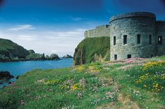 Beautiful Alderney and amazing Fort Clonque