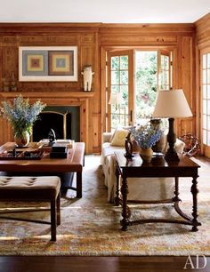 Timothy Corrigan. [Blog] How to Magically Transform Interiors with Oushak Rugs