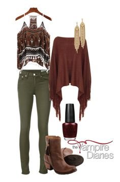 The Vampire Diaries Bonnie Bennet inspired outfit