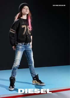 Kid's Wear - Renegades and Dreamers Unite! Diesel Kid unveals the new Fall/Winter 2015 adv campaign