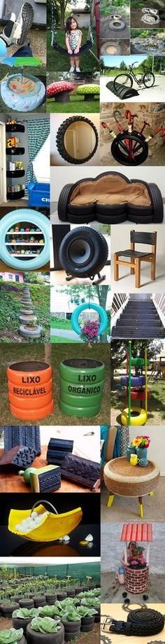 23 Clever DIY Christmas Decoration Ideas By Crafty Panda Diy Crafts To Sell, Diy Crafts For Kids, Home Crafts, Fun Crafts, Tire Art, Tyres Recycle, Baskets On Wall, Home Decor Furniture, Diy For Teens