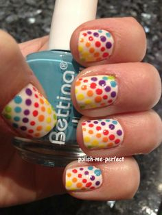 Polish Me Perfect: Rainbow-licious