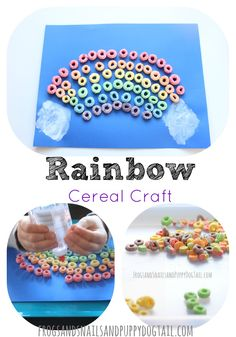 Rainbow Cereal Craft on FSPDT