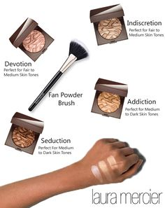 Find your perfect Face Illuminator shade and use the Fan Brush to apply!