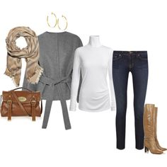 cute reunion night outfit for cooler weather